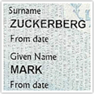 Mark Zuckerberg Passport